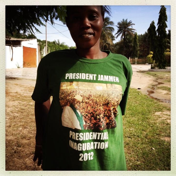 JAMMEH T-SHIRT_GAMBIA