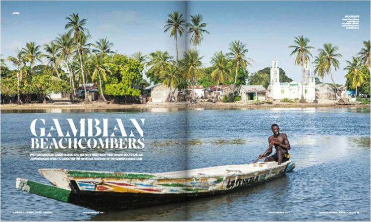 Walking Gambia coastline_Brussels Airlines