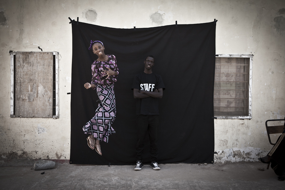 Student portrait photography workshop - The Gambia, West Africa. Image © Ya Ida Drammeh. With Jason Florio