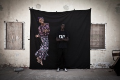 Student portrait workshop - Kombos, The Gambia, West Africa