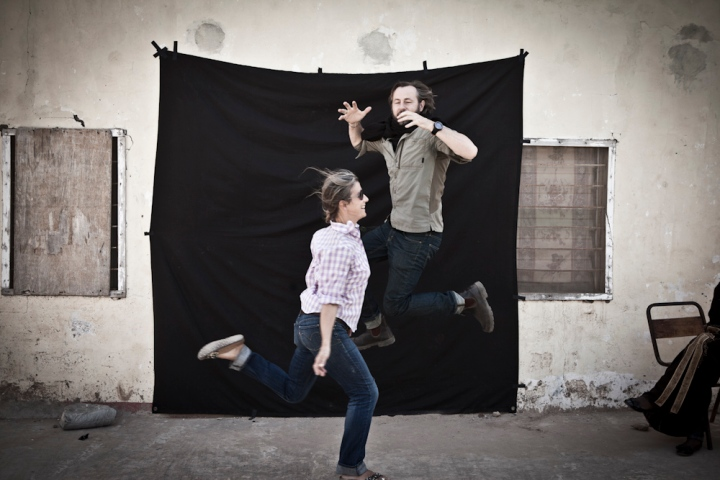 Photographer & workshop tutors, Jason Florio & helen Jones-Florio, The Gambia