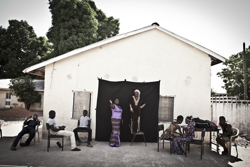 Photography Workshops, The Gambia: Student portrait workshop - Kombos, The Gambia, West Africa, West Africa. Image ©Jason Florio