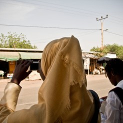 Farafenni students shoot whats around them