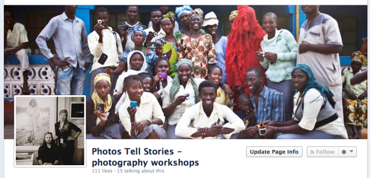 Facebook - 'Photos Tell Stories' - a page you might 'like'