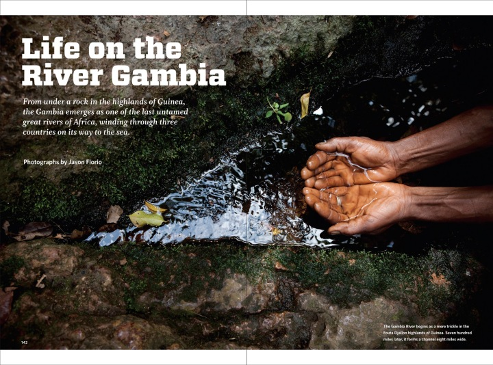 'River Gambia' the source, Fouta Djallon Highlands - VQR Magazine  © Jason Florio