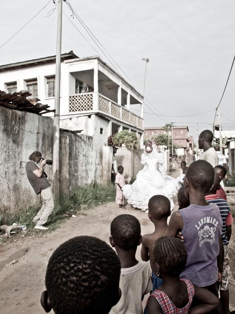 Here comes the bride - Banjul, The Gambia