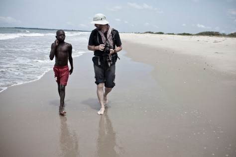 Sacred sites/walking the coastline of Gambia (for Brussels Airlines 'BSpirit' Magazine) - Image ©Helen Jones-Florio