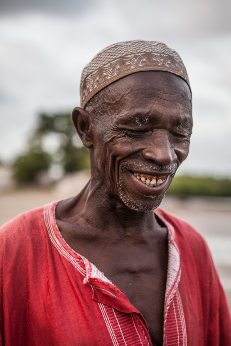 Historian and local fisherman, Modou Sonko, Jinack Island, Gambia-image © Jason Florio