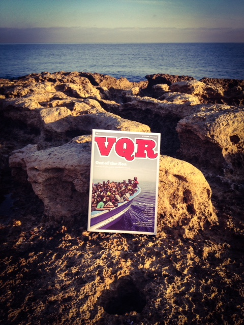 VQR cover image © Jason Florio  - boat rescues in the Med