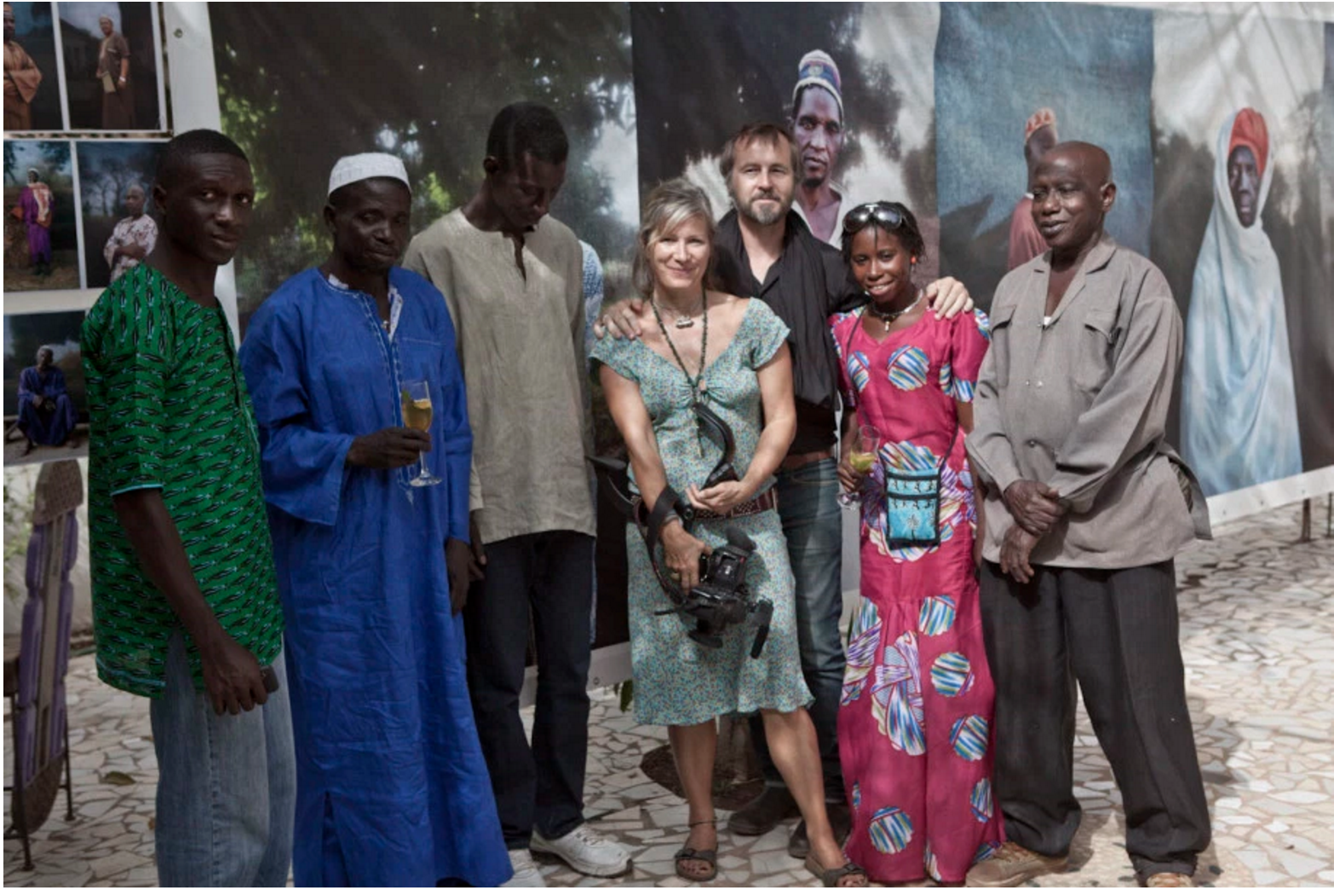 Silafando exhibition, Gaya, The Gambia