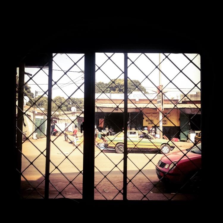 Through the window -  Serrekunda, The Gambia, West Africa