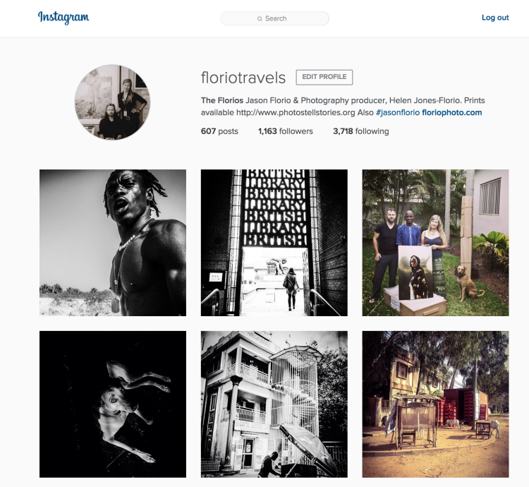 Instagram - Florio Travels - West Africa, Europe, USA, and on
