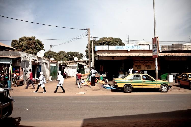 Urban street life, Serrekunda, The Gambia, West Africa © Helen Jones-Florio