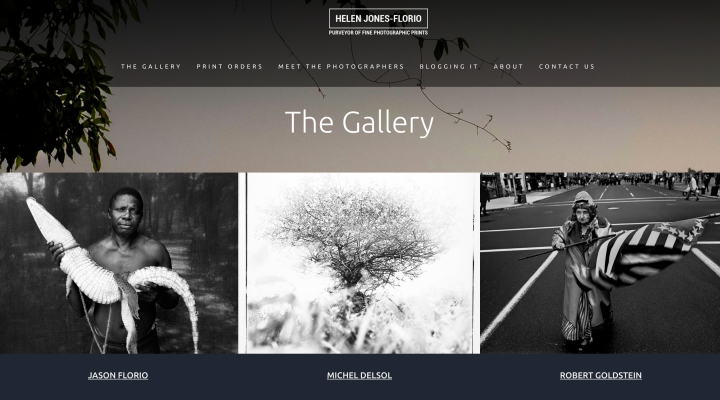 HJF GALLERY HOME PAGE