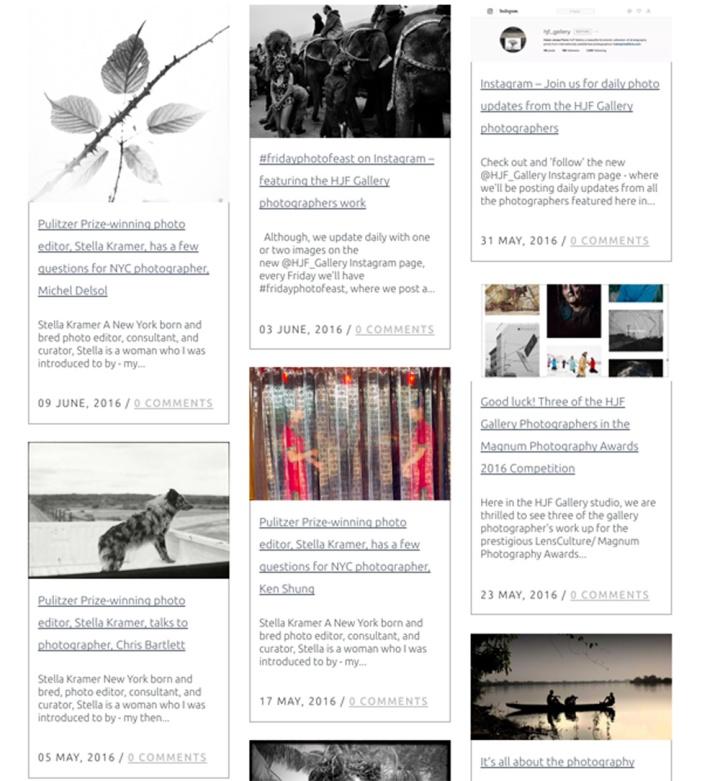 blogging it - hjf gallery