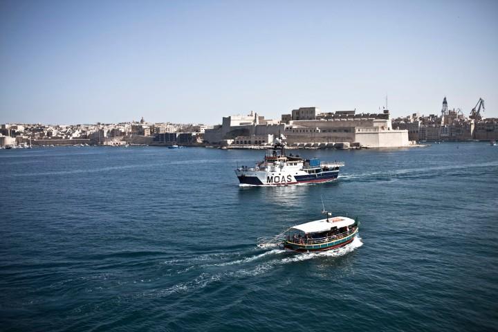 The Phoenix Heads out of Grand Harbour, Malta © Helen Jones-Florio