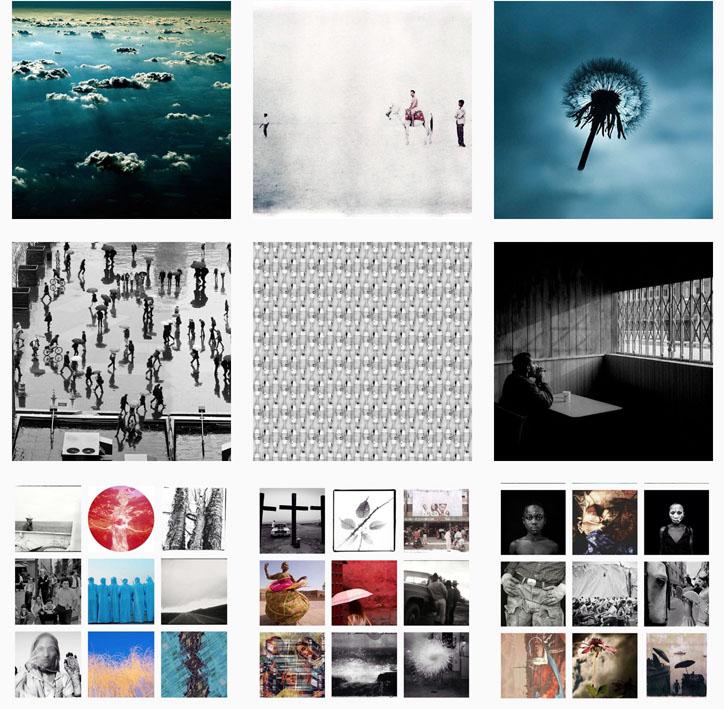 Montage - Instagram, HJF Gallery