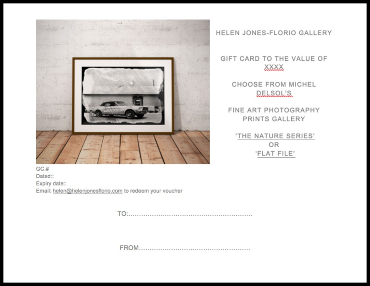 Gift cards - beautiful photography prints from the HJF online gallery