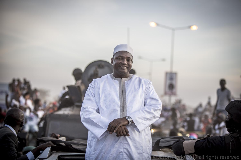 President Adama Barrow, the Republic of The Gambia © Jason Florio