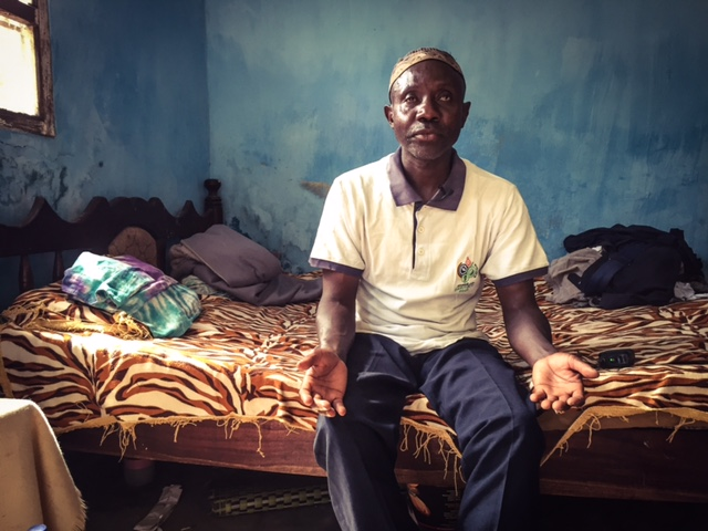 Portrait of ex-Mile2 prisoner, Ballo - The Gambia, West Africa © Helen Jones-Florio