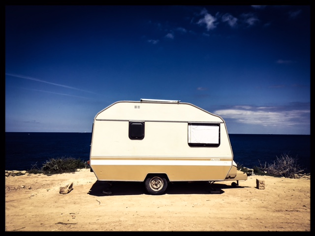 Caravan with a view, Malta © Helen Jones-Florio