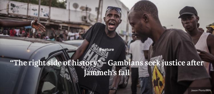 IRIN NEWS - tortured under Jammeh's rule, Gambian's seek justice - image © Jason Florio
