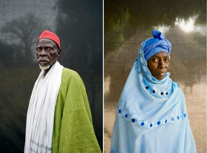 'Silafando' The Gambia - Blackout Portraits © Jason Florio