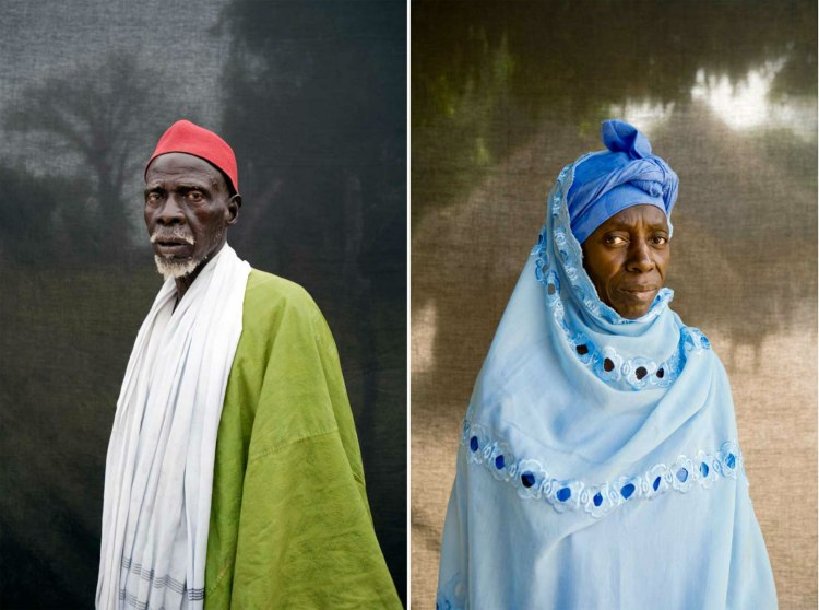 'Silafando' The Gambia - Blackout Portraits © Jason Florio