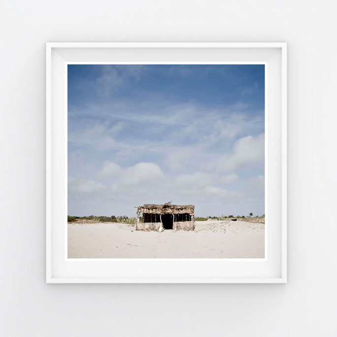 10x10 Instagram Prints Shop: 'Beach Shack' Gambia © Helen Jones-Florio