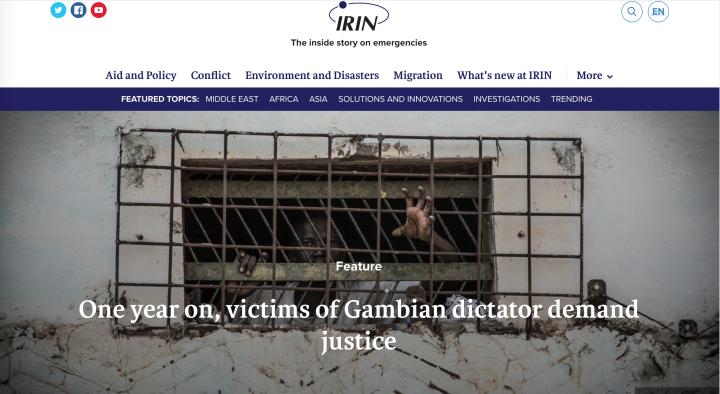 IRIN News - images © Jason Florio