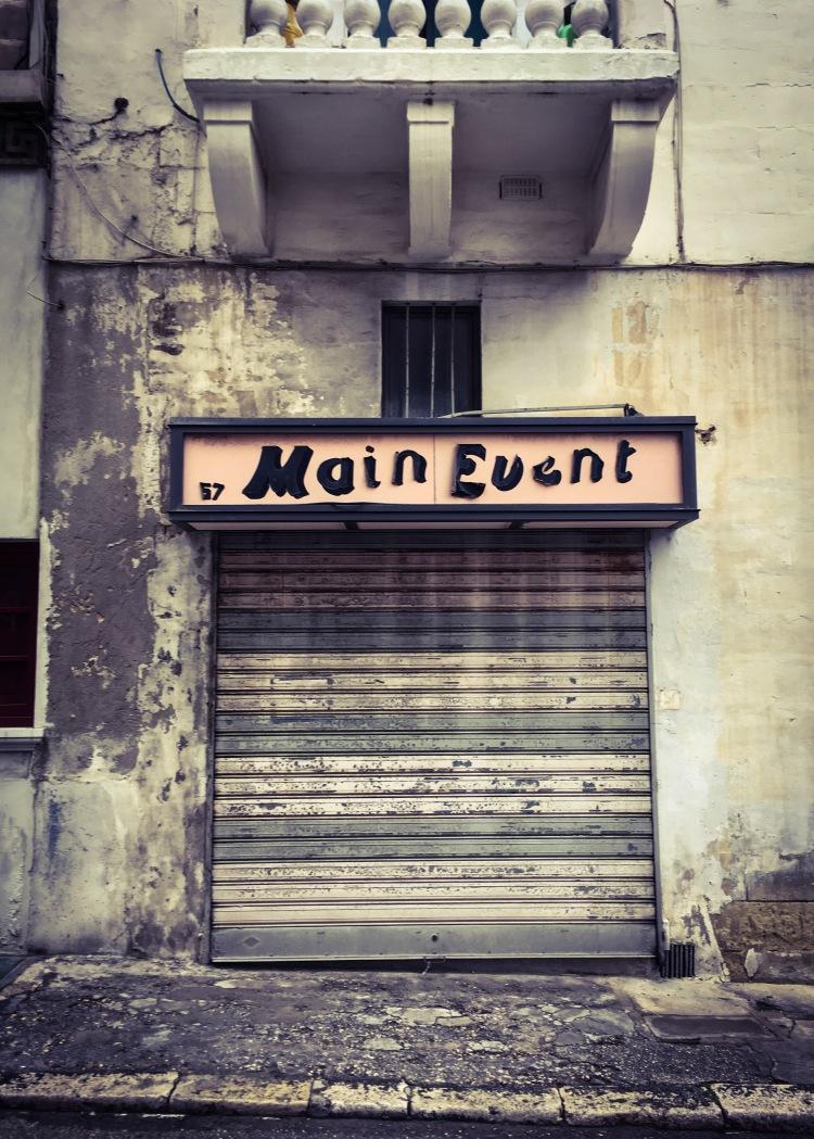 The Main Event - Old store front, Malta © Helen Jones-Florio