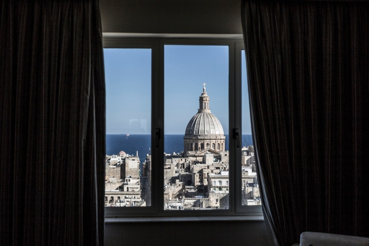Valletta, through a window © Jason Florio, Malta