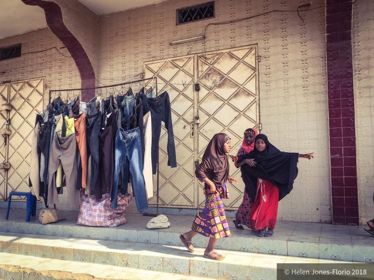 Street Life, Serrekunda, The Gambia- young girls playing ©Helen Jones-Florio