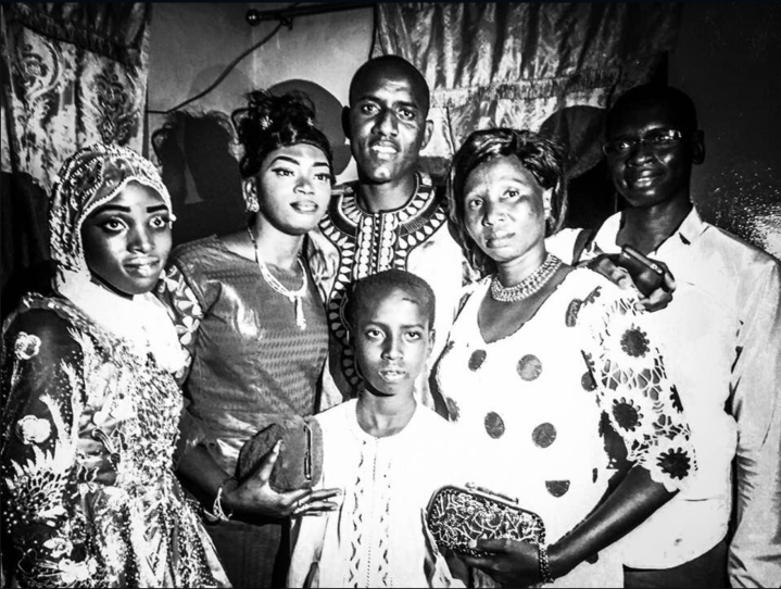 Black and white, Samba and Fatou's wedding celebrations, The Gambia, West Africa © Jason Florio