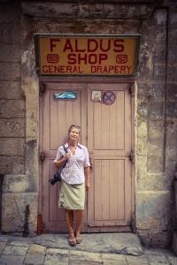 Helen Jones-Florio, Valletta vintage storefront ©Jason Florio