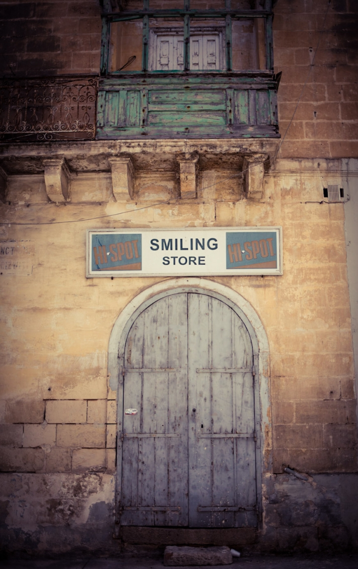 #Disappearingmalta 'Smiling Store', Marsa, Malta ©Helen Jones-Florio photography prints
