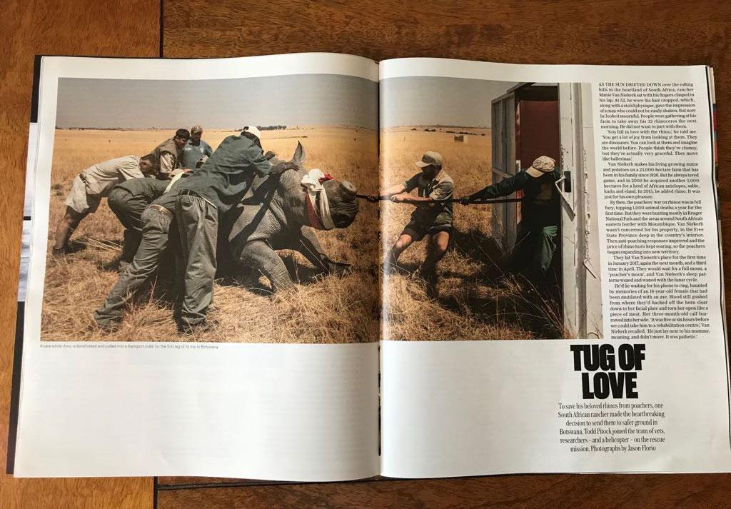 The Telegraph Magazine 'Tug of Love' - image ©Jason Florio