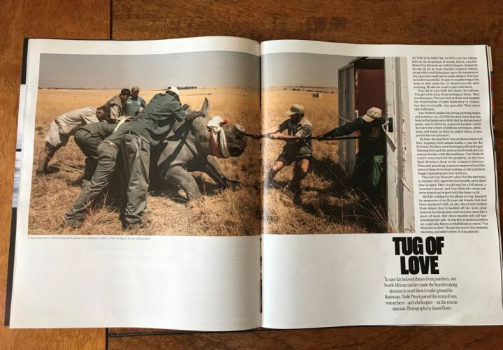 The Telegraph Magazine 'Tug of Love' - image ©Jason Florio