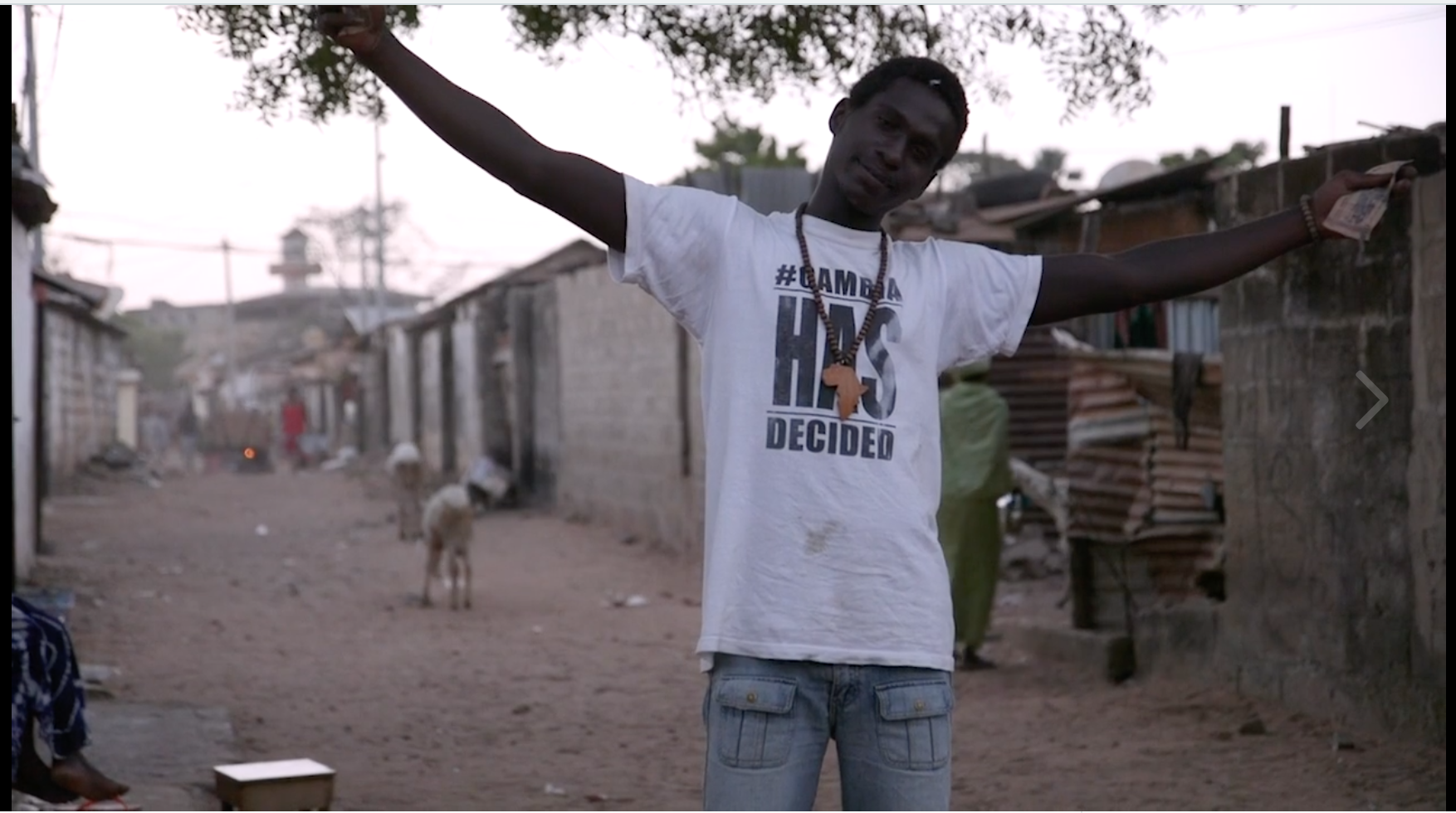 """Vimeo - Watch """"We Never Gave Up: Stories of Courage in Gambia"""" - trailer for Amnesty International"""