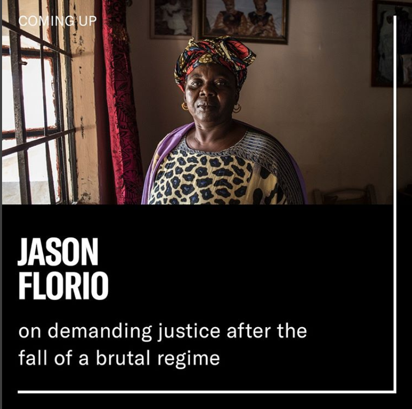 Open Society Foundation Instagram Takeover – images ©Jason Florio  'Gambia-Victims and Resisters of a Regime