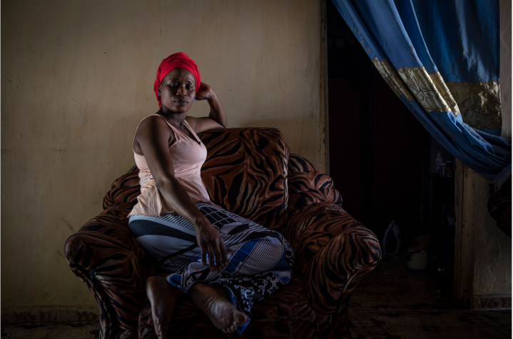 Bintu was detained and raped by 3 masked security officers - Gambia victims and resisters portraits ©Jason Florio