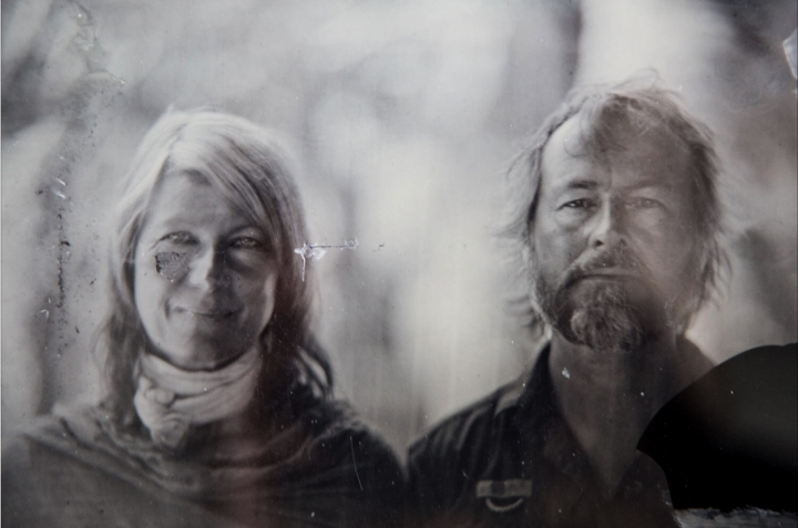 Helen Jones-Florio & Jason Florio - wet plate collodion print portrait courtesy of Marcin Andrzejewski
