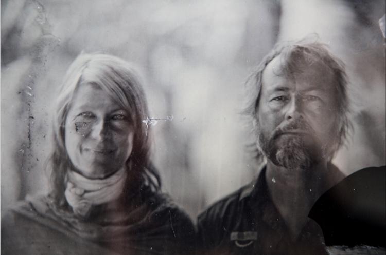Helen Jones-Florio & Jason Florio - wet plate collodion print portrait courtesy of Marcin Andrzejewski