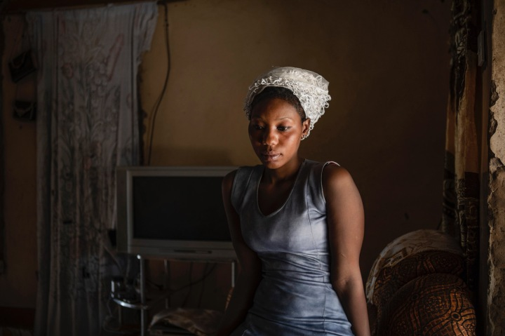 Amie Bayo – portrait © Jason Florio 'Gambia – Victims and Resisters of a Regime'