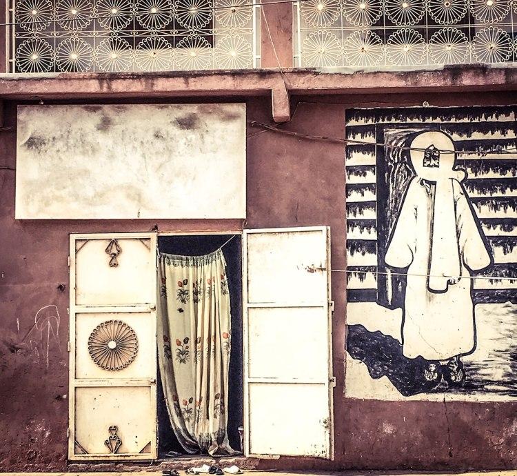Serigne Touba Doors, Banjul, The Gambia, West Africa architecture © Helen Jones-Florio