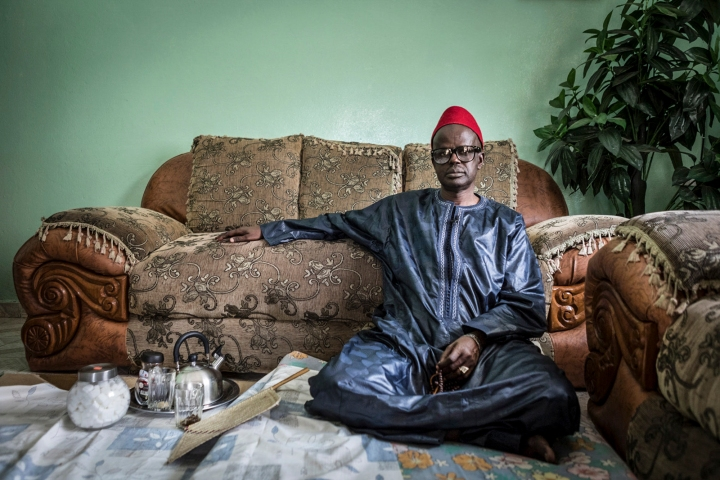 Imam Baba Leigh, disappeared, held prisoner and tortured by Yahya Jammeh regime, The Gambia ©jason florio