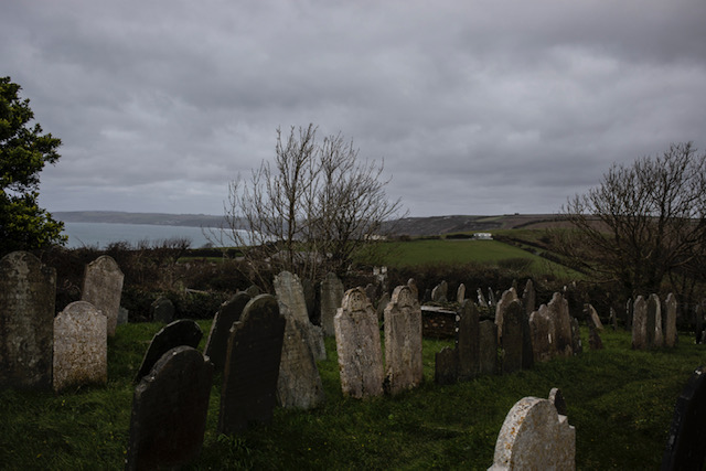 Isolation - images ©Jason Florio - an old graveyard, overlooking the sea, Cornwall, UK