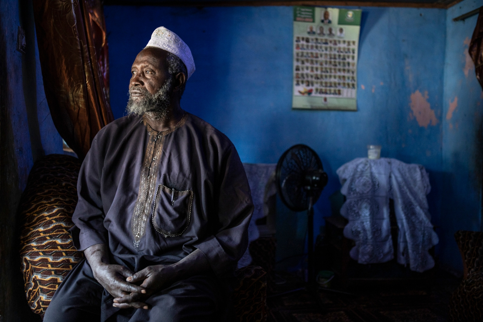 The Witch Hunts of 2009, The Gambia - Sankung Balajo, one of over one thousand elders abducted on the orders of then-President, Yahya Jammeh.. © Jason Florio/Helen Jones-Florio