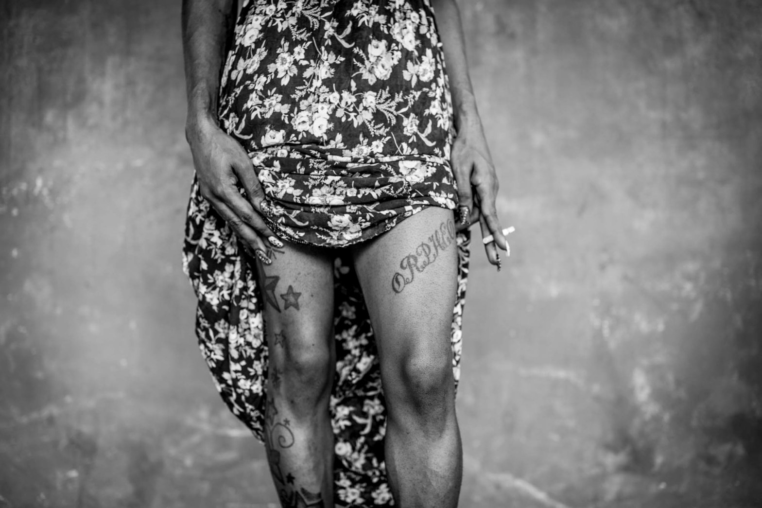 black and white portraits of the powerful trans-women of Guyana Trans United. Images © Jason Florio