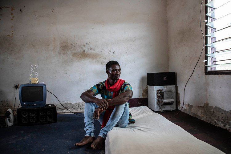 Exhibition: The Duty to Remember - Human Rights Week, Geneva, November 2020. Image ©Jason Florio/Helen Jones-Florio 'Gambia-victims and resisters'
